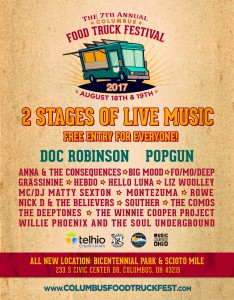 2017 Columbus Food Truck Festival Bands